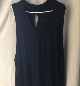 Torrid Size 5 Super Soft Tank with Collar 💄